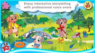 Three Little Pigs: Free Interactive Touch Book screenshot 2