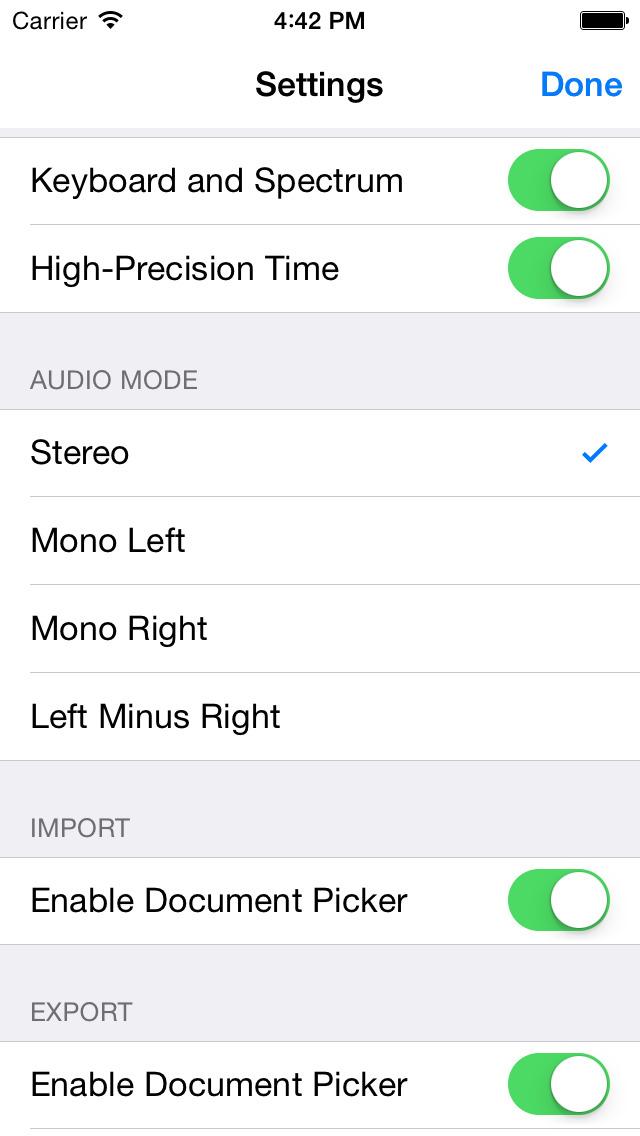 AudioStretch screenshot 2