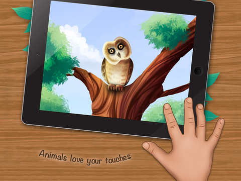 Who Lives in a Tree? An Interactive Children's Mini-Encyclopedia. screenshot 8