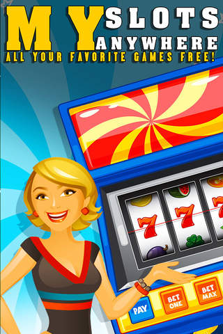 My Slots Anywhere! All your favorite games FREE! - náhled