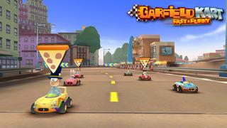 Garfield Kart Fast & Furry screenshot 2