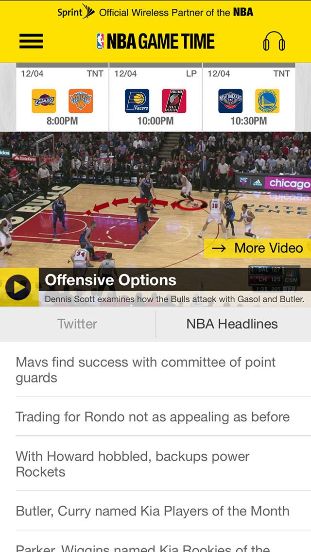 NBA: Official App screenshot 2