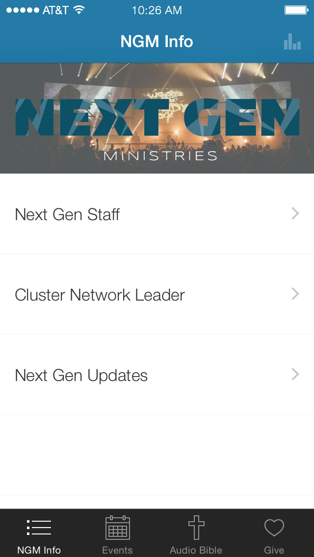 Next Generation Ministries screenshot 1