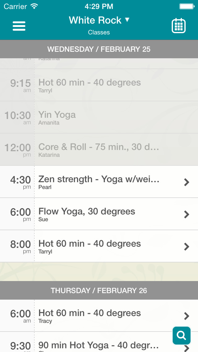 Westcoast Hot Yoga screenshot #2