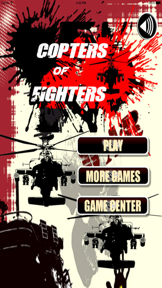 Copters Of Fighters - Iron Air Force Attack screenshot 1