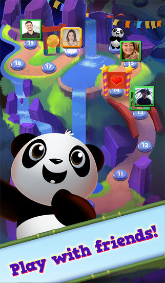 Panda PandaMonium: A Mahjong Puzzle Game screenshot #3