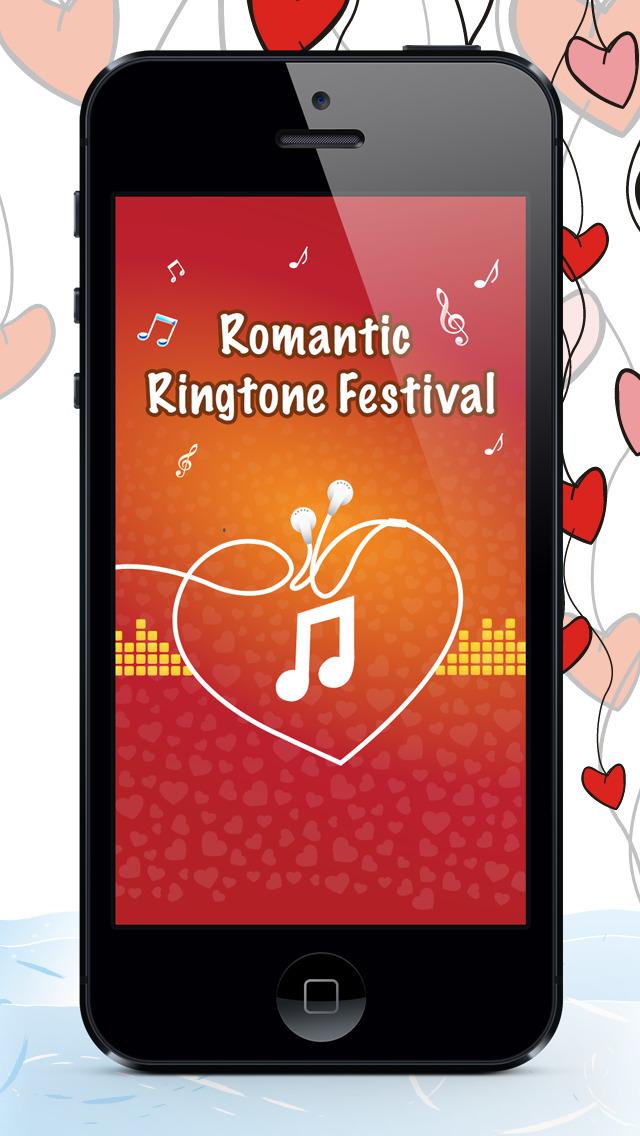 Romantic Ringtones & Musics  – Valentines Songs & Tunes Edition screenshot 1