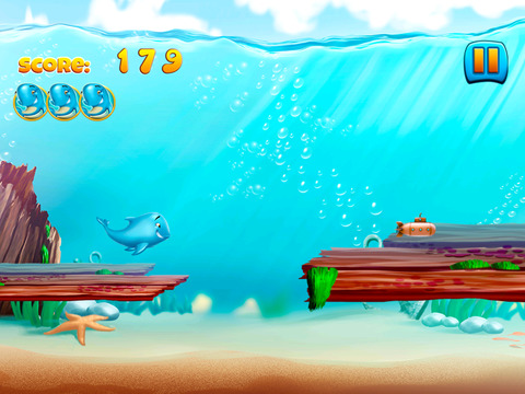 Moby Whale Run screenshot 2