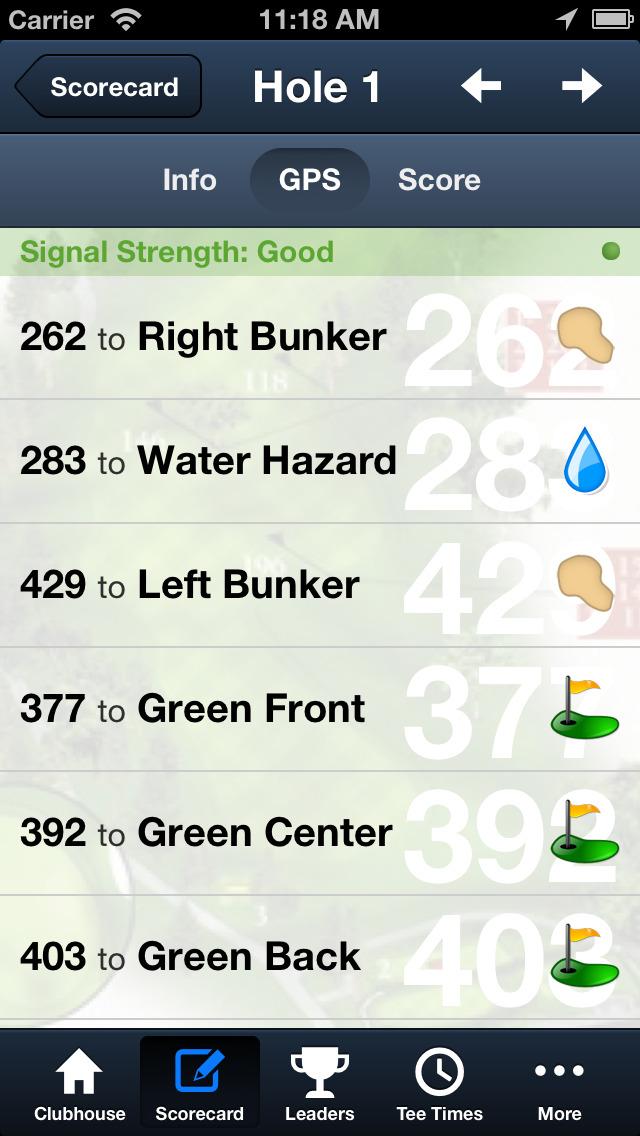 City of Fairfield Golf screenshot 4