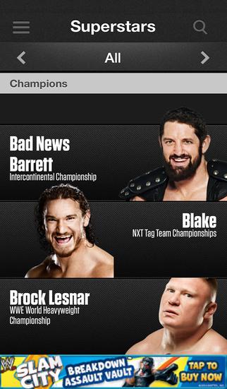 WWE screenshot 5