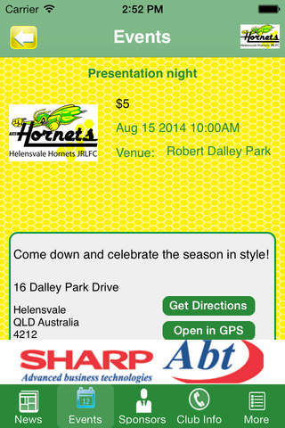 Helensvale Hornets Junior Rugby League Club - náhled