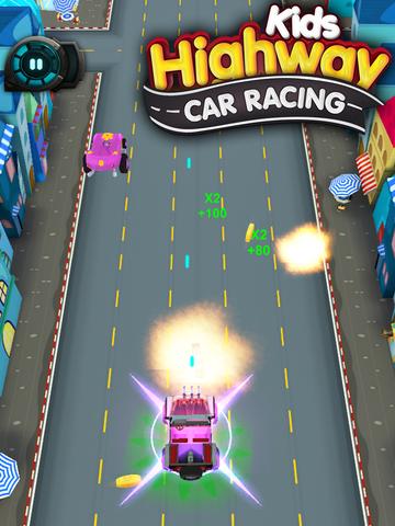 Kids Highway Car Racing screenshot 10