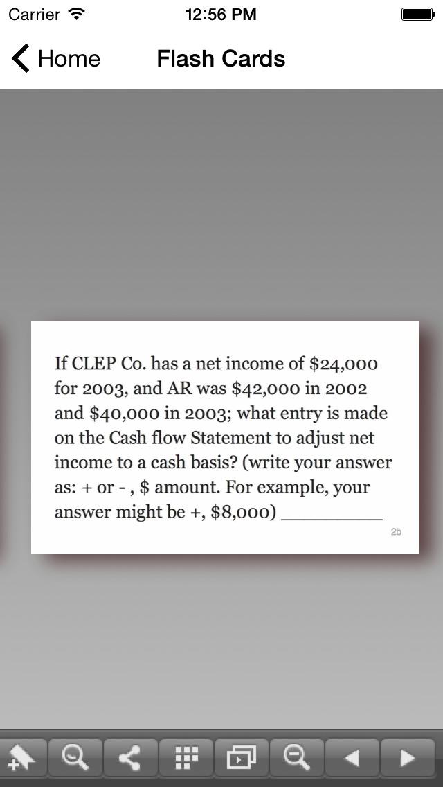 CLEP Financial Accounting Prep screenshot 3