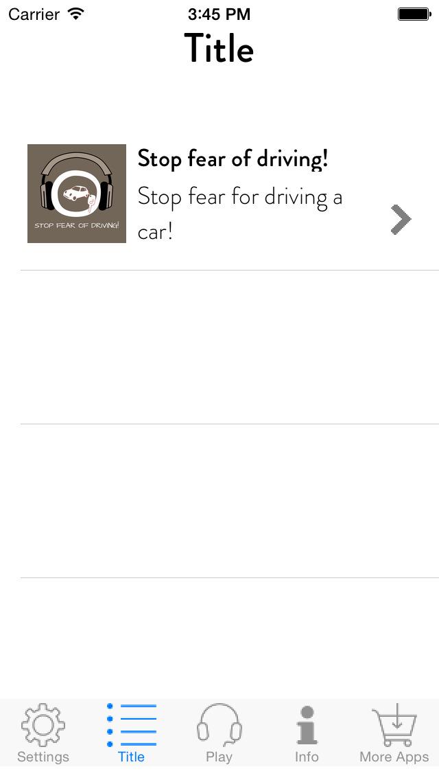 Stop Fear of Driving! Angst vorm Autofahren überwinden mit Hypnose screenshot 2