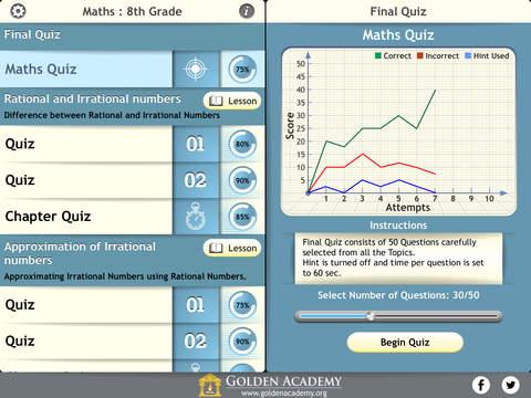 Middle School - Maths : 8th Grade screenshot 7