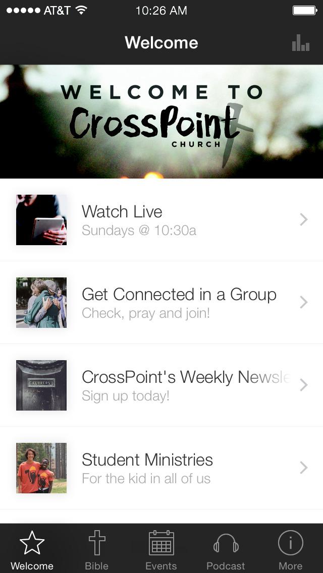 CrossPointHB screenshot 1