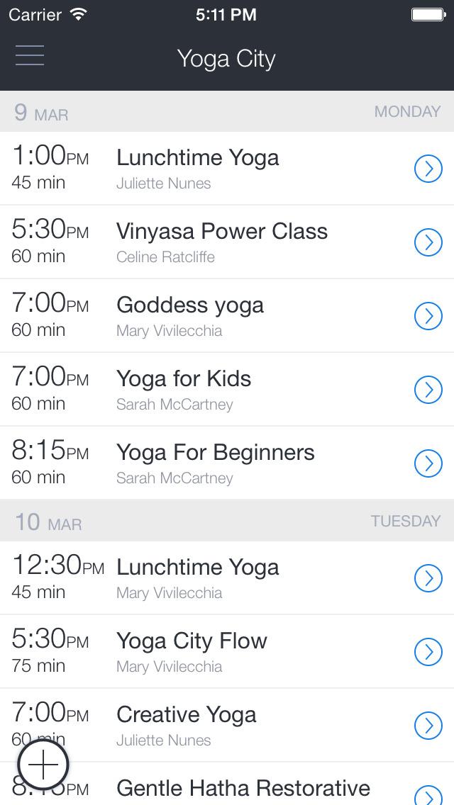 Yoga City Mississauga screenshot 1