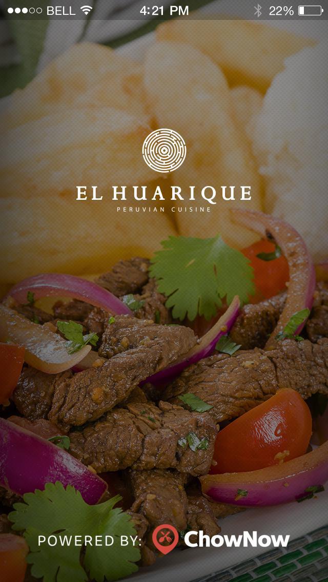 El Huarique Peruvian Cuisine screenshot 1
