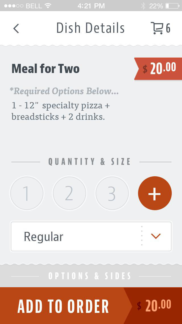 1812 Pizza Company screenshot 4