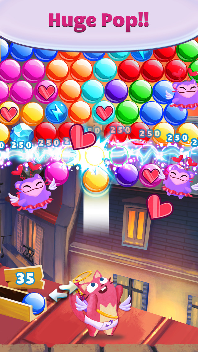 Bubble Mania Valentine's Day screenshot 1