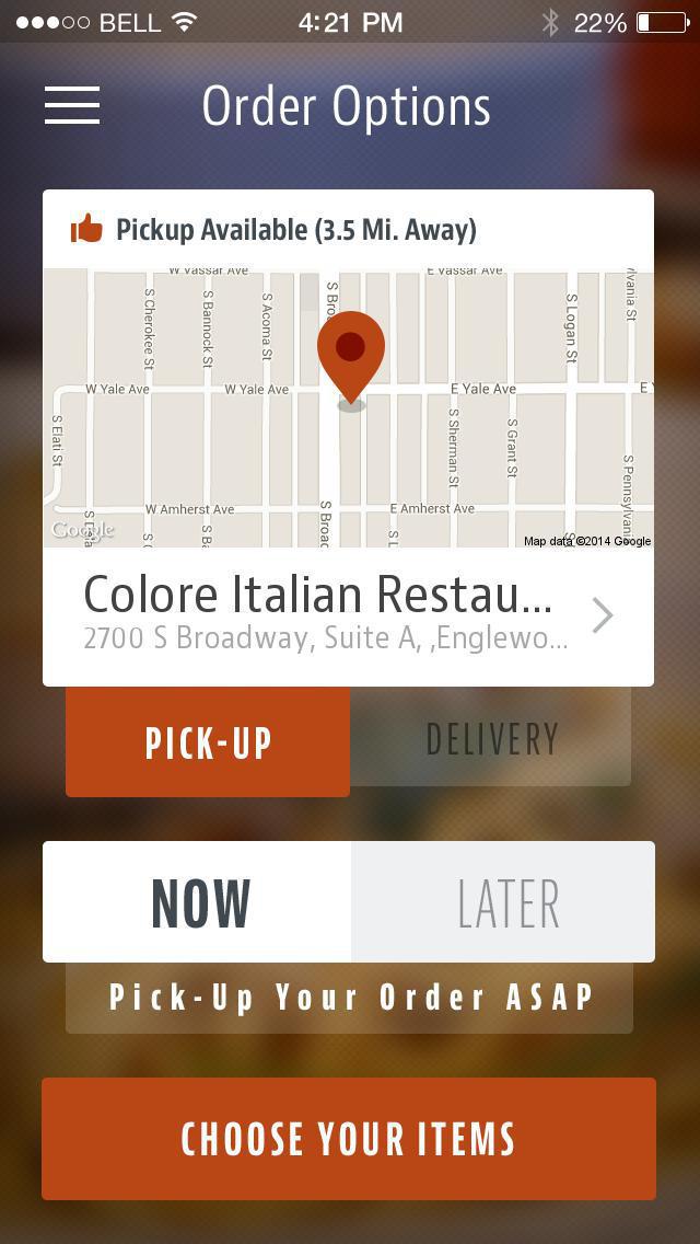 Colore Italian Restaurant screenshot 2
