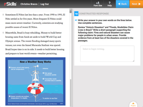READ 180 rSkills College & Career screenshot 2