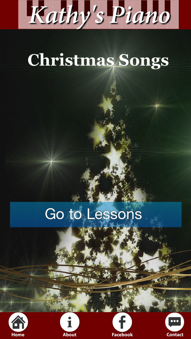 Christmas Songs by Kathy's Piano Lite screenshot 1