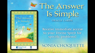 The Answer is Simple Oracle Cards - Sonia Choquette screenshot 1