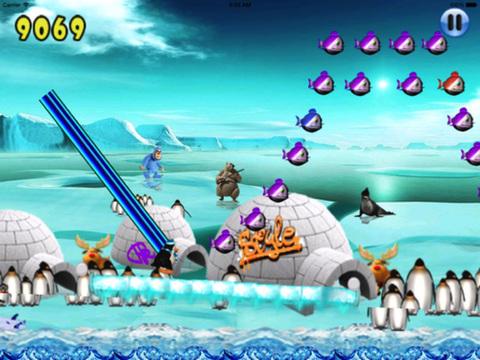 Super Penguin Ice Jump PRO screenshot 6
