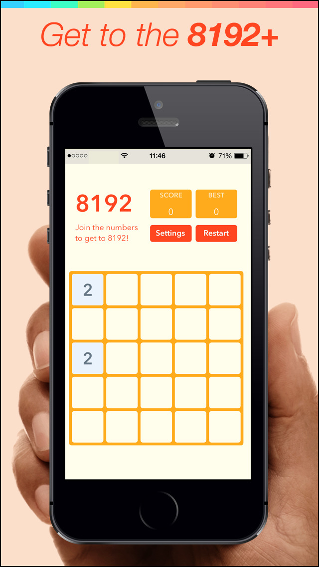 8192 Pro Number Puzzle game screenshot 5
