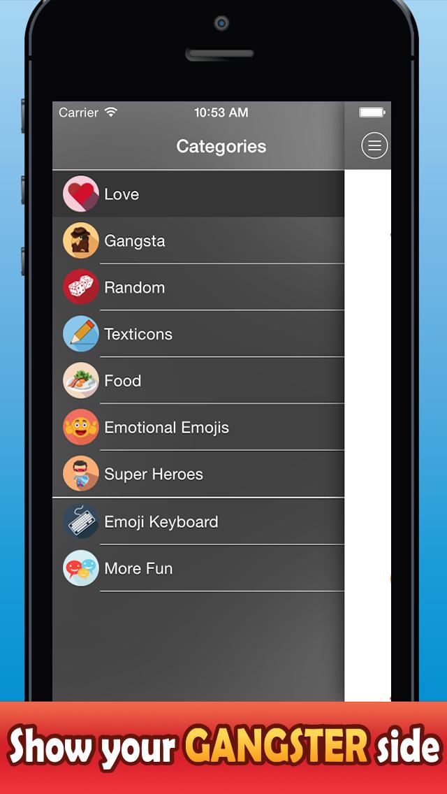 Pimp My Emoji 2015 - Send Animated Messages screenshot 4