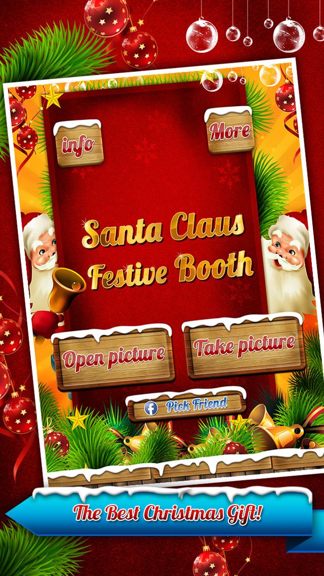 Santa Christmas Photo Snap Grotto FX Editor Free screenshot 5
