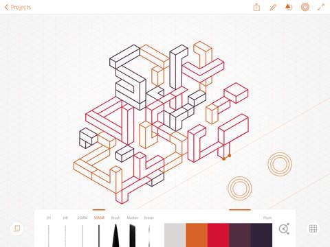 Adobe Illustrator Line screenshot 1