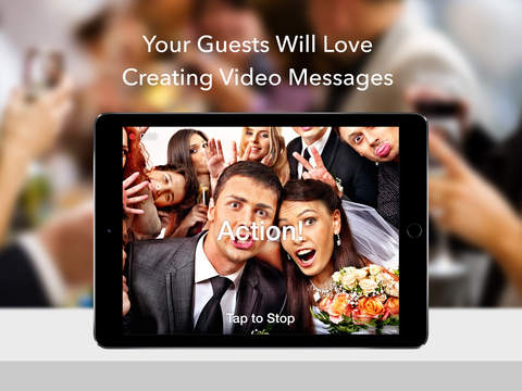 Wedding Guestbook - Video Photo Booth for Receptio - náhled