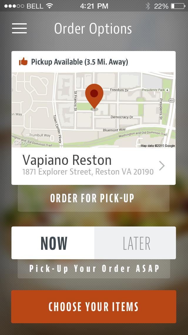 Vapiano Restaurant screenshot 2