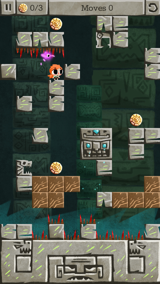 Zuki's Quest - a turn based Puzzle Platformer screenshot 1