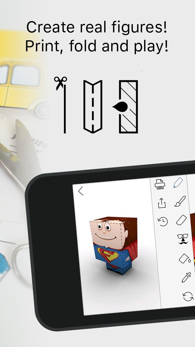 Foldify - Create, Print & Fold screenshot 2