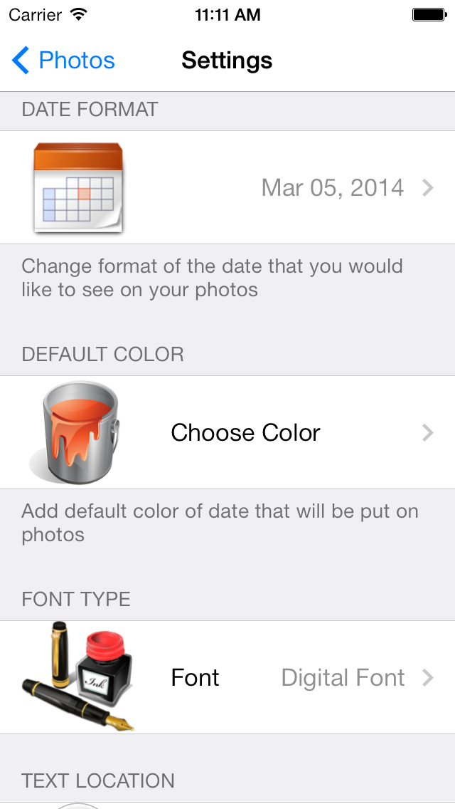 Photo Date & Photo Time Stamp Camera - Add Date & Timestamp to One or All Photos screenshot 5