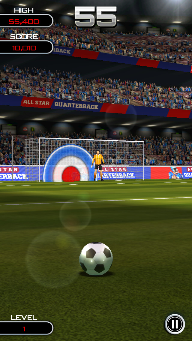 Flick Soccer! screenshot 2