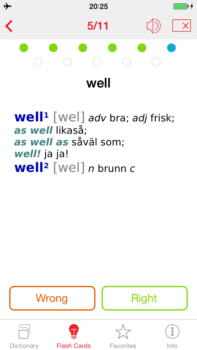 Swedish - English Berlitz Essential Dictionary screenshot 3