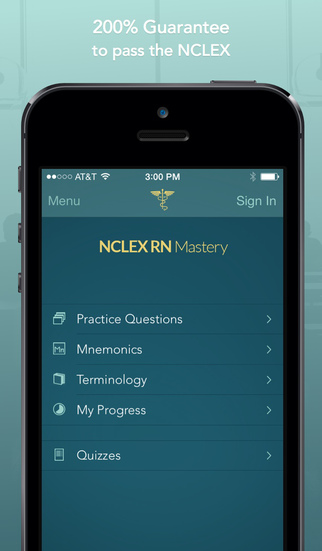 NCLEX RN Mastery screenshot 1