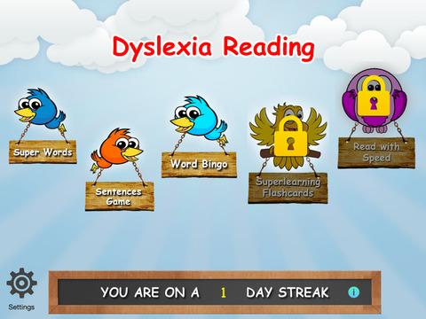 Dyslexia Reading HD screenshot 1