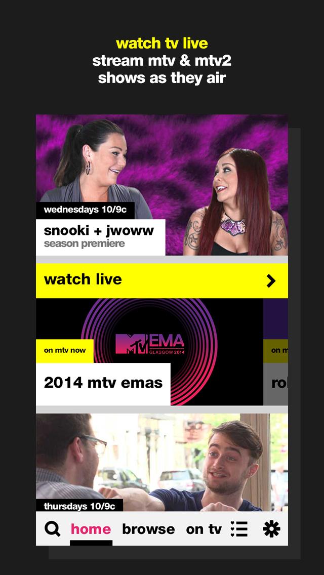 MTV screenshot 1