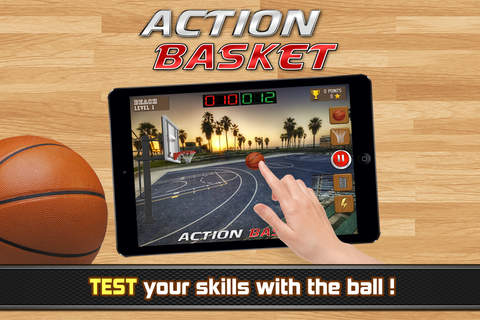 Action Basket - basketball - náhled