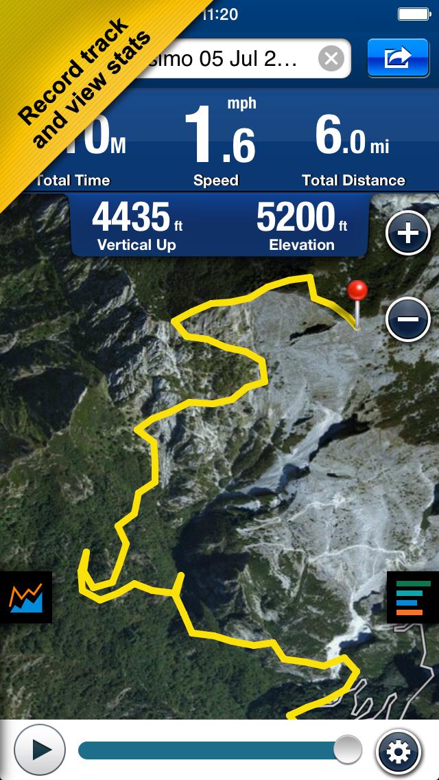 Hike & Bike screenshot 1