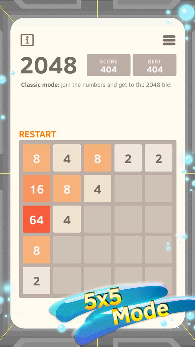 2048 Number Puzzle game screenshot 3