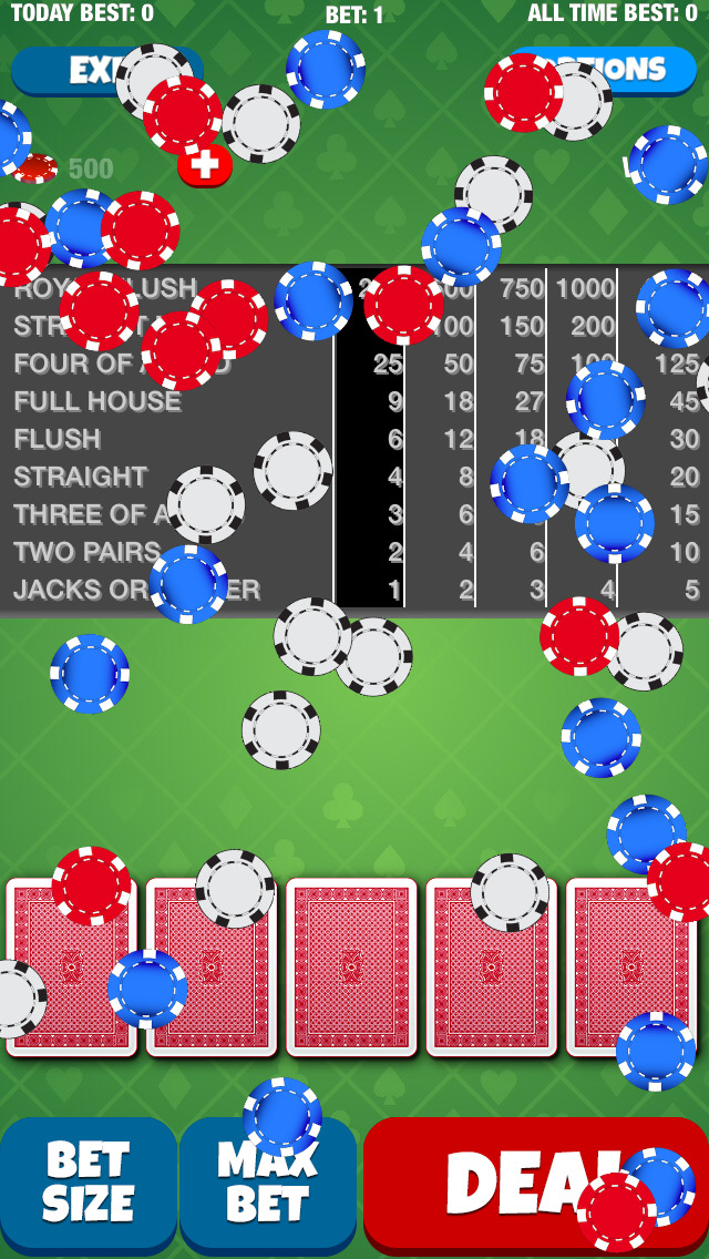 Joker Face Poker screenshot 2