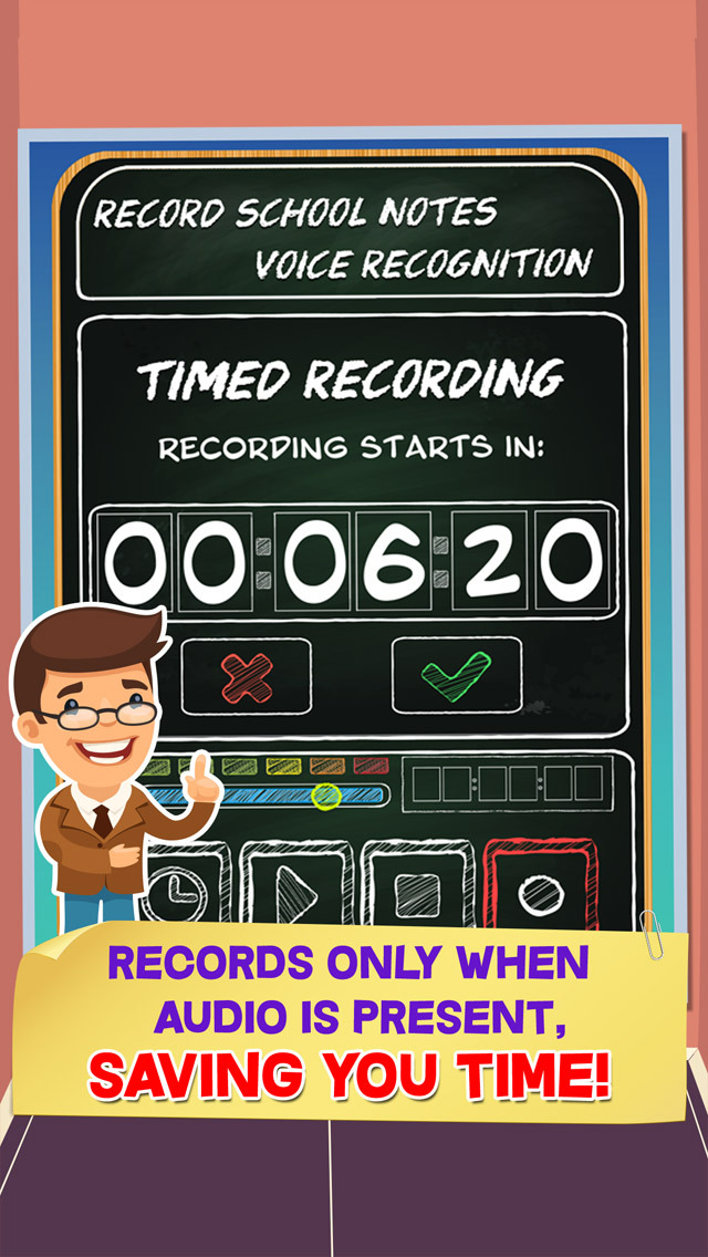 Record School Notes - Voice Recognition screenshot 3