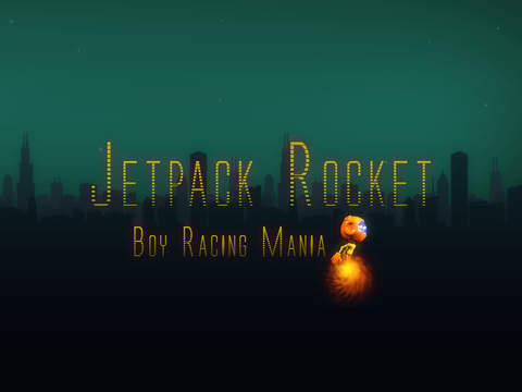 Jetpack Rocket Boy Racing Mania - cool air flying arcade game screenshot 3