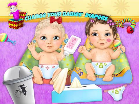 Sweet Baby Girl Twin Sisters screenshot 7